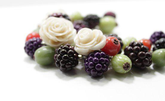 Blackberry, Currant, Berry, Gooseberry, Roses, Summer