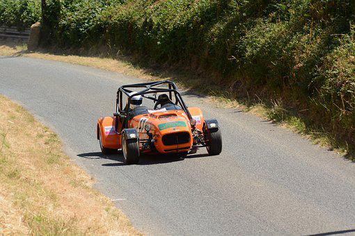 Caterham, Race Car, Competition, Speed, Hillclimb