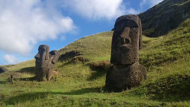 Moai, Quarry, Easter Island, History, Culture, Outdoors