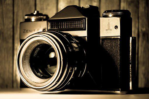 Camera, Old, Zenith, Lens, Analog