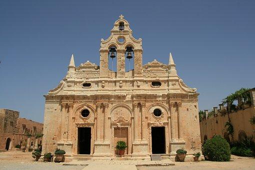 Monastery, Moni Arkadi, Greece
