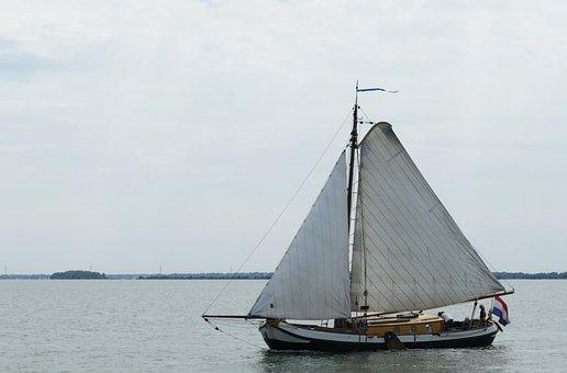 Boat, Sailing Boat, Ship, Sailing Ship, More, Water