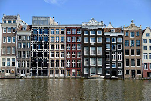 Amsterdam, House, Netherlands, Holland, Architecture
