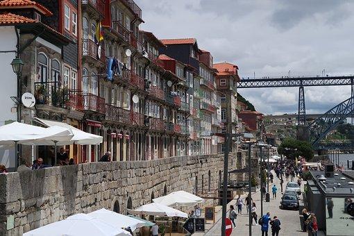 Porto, Bridge, Street