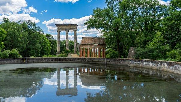 Ruinenberg, Potsdam, Ruins, Stone, Architecture