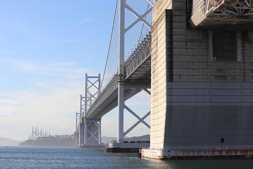 Scenery, Bridge, Seto-oohashi, Landscape