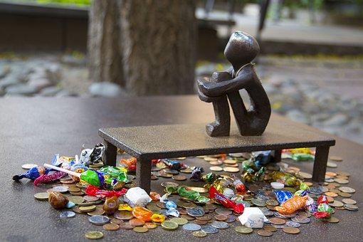 Stockholm, Boy, Journey, Sculpture, Monument, Showplace