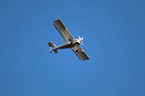 Aircraft, Fly, Propeller, Sky, Aviation