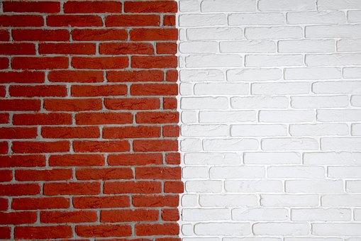 Background, Brick, Wall, Walls, Bright, Shiny, Smooth