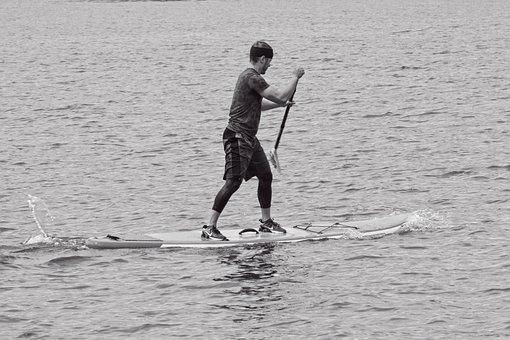 Stand Up Paddling, Paddling, Water Sports, Sup, Paddle