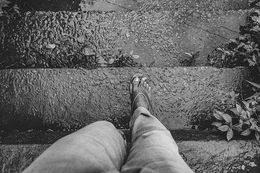 Steps, Walking, Journey, Men, Travel, People, Outdoors