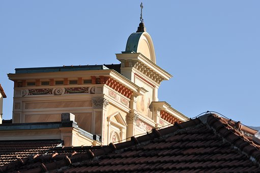 Roof, Turret, Architecture, Church, Turrets
