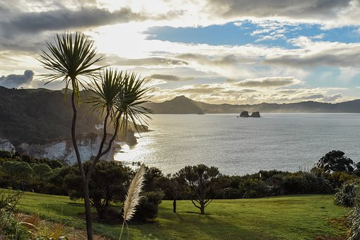 New Zealand, North Island, View, West, Travel, Water