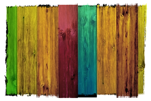 Wood, Boards, Colorful, Grain, Side By Side, Series