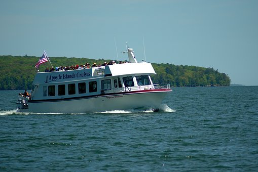 Apostle Islands Tour Boat, Tour Boat, Three Hour Tour