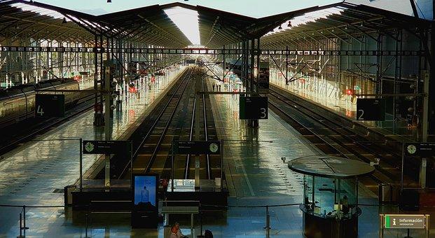 Station, Train, Travel, Outputs, Arrivals, Emotion