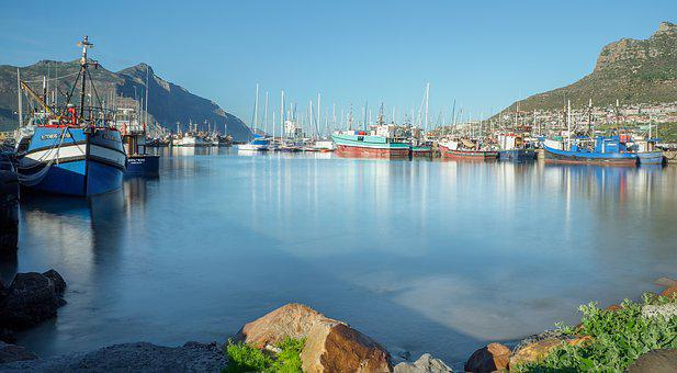 Hout Bay Harbour, Sea, Boat, Ship, Port, Harbor, Water