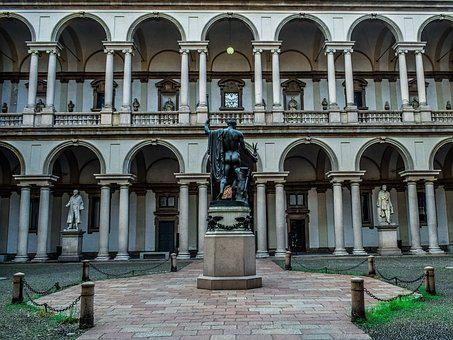 Pinacoteca Di Brera, Architecture, Sculpture, Building