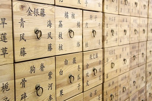 Chinese Medicine, Drawer, Traditional Chinese