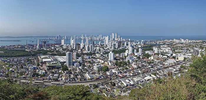 Colombia, Cartagena, City, Architecture, Caribbean