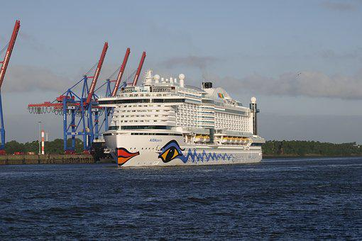 Shipping, Cruise Ship, Cruises, Ship Travel, Germany