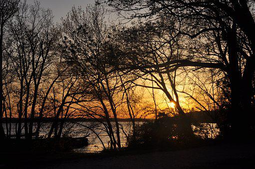 Potomac River, Sunset, Evening, Dusk, Scenic, Outdoor