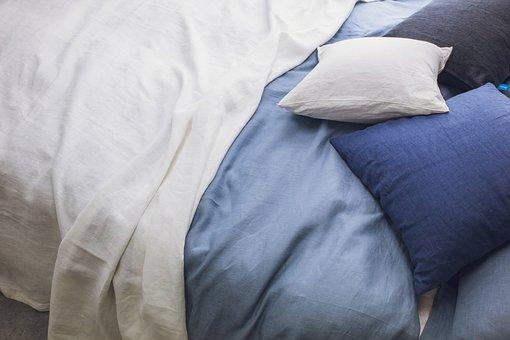 Bedding, Duvet Cover, Linen, Summer Blanket, Coverlet
