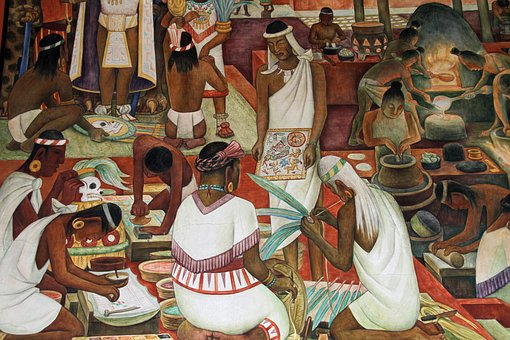Mural, Diego, Rivera, Mexican, Artist, Famous