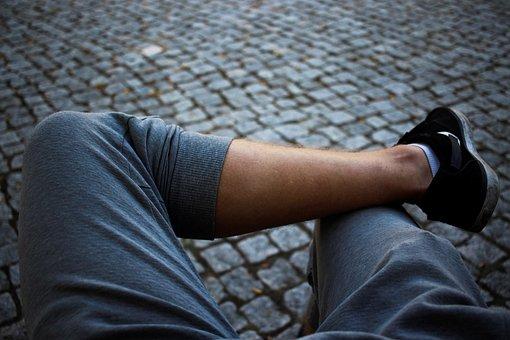 Legs, Shot, Feet, Human, Relaxation, Contrast, Focus