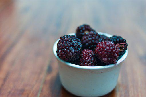 Blackberries, Fruit, Food, Dessert, Healthy