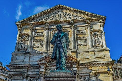 Italy, Milano, Sculpture, Milan, Architecture, City