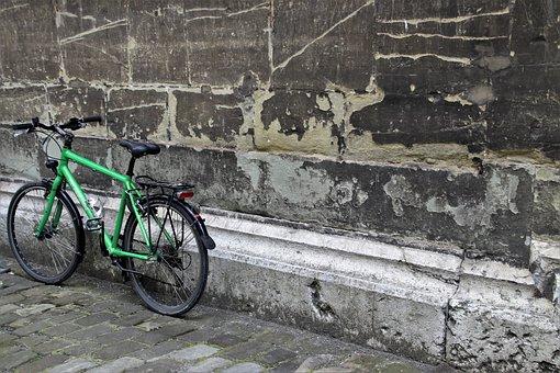 Bike, Lake Dusia, The Walls Of The, Pattern