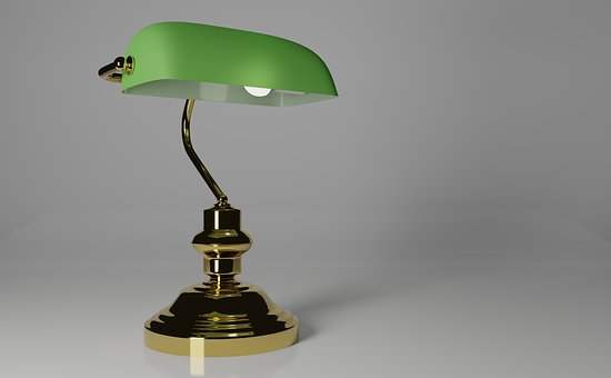 Office Lamp, Lamp, Lawyers Lamp