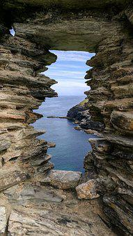 Cornwall, England, Beach, Sea, Mar, Nature, Stone, Rock
