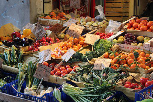 Market, Vegetables, Food, Healthy, Fresh, Colorful