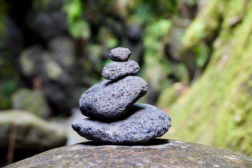 Stone, Zen, Stack, Rest, Balance, Meditation, Nature