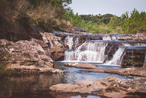 Rio, Waterfall, Water, Nature, Landscape, Cascade