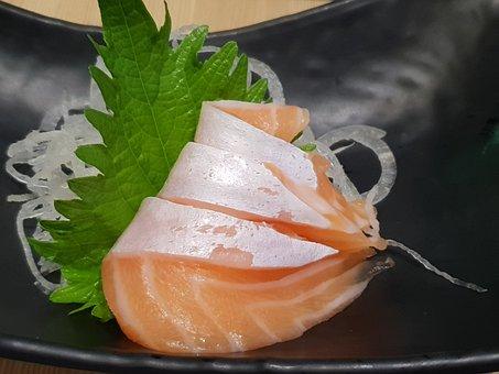 Food, Seafood, Fish, Salmon, Sushi, Sashimi