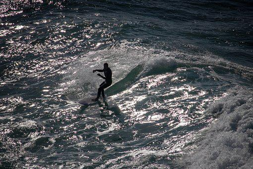 Surfer, Surfing, Surf, Sea, Wave, Ocean, Water, Male