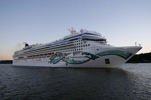 Cruise Ship, Cruise, Norwegian Jade, Ship Travel