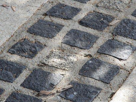 Path, Concrete, Cement, Square, Geometric