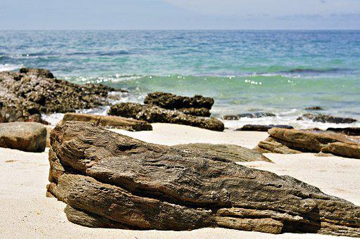 Beach, Sea, Water, Marine, Nature, Rocks, Summer, Sand