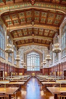 Architecture, Michigan, University, Interior, Old