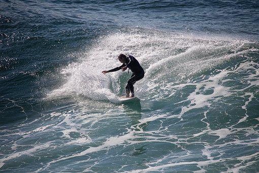 Surfer, Man, Surfing, Surf, Water, Ocean, Beach, Wave