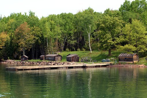 Manitou Island Fish Camp, Apostle Islands, Fishing