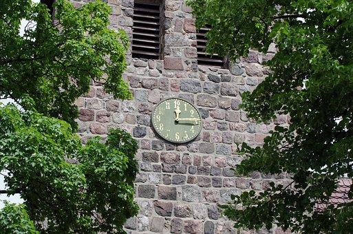 Steeple, Church Clock, Architecture, Building