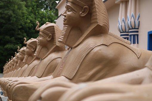 Egypt, Brazil, Museum, Art, Sphinx