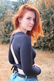 Woman, Model, Blue Eyes, Elegance, Beauty, Portrait