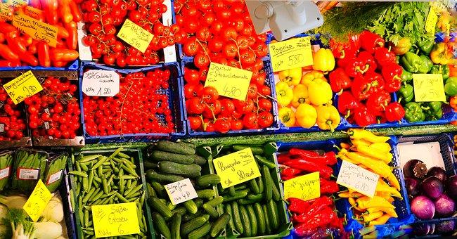 Vegetables, Fruit, Fresh, Healthy, Food, Delicious, Bio