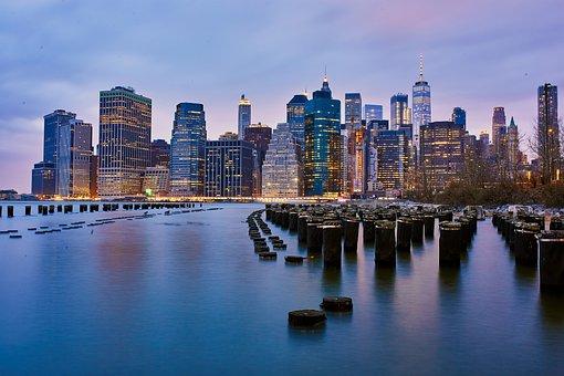 Nyc, Skyline, City, Usa, Cityscape, Architecture